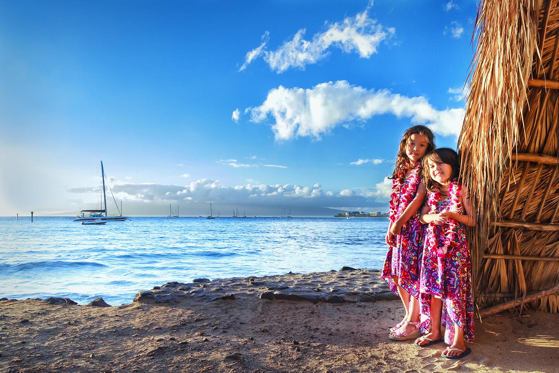 Hawaiian Sunset Girls