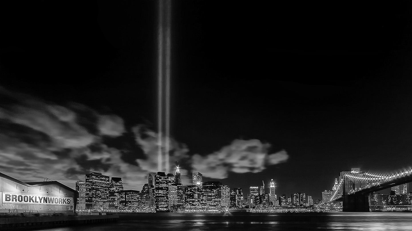 Remember 9-11 B&W