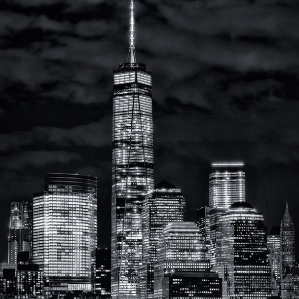 1WTC - B&W